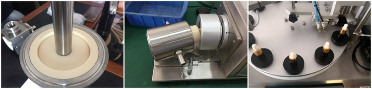 Rotary Ceramic Piston Pump Filling Capping Machine Series