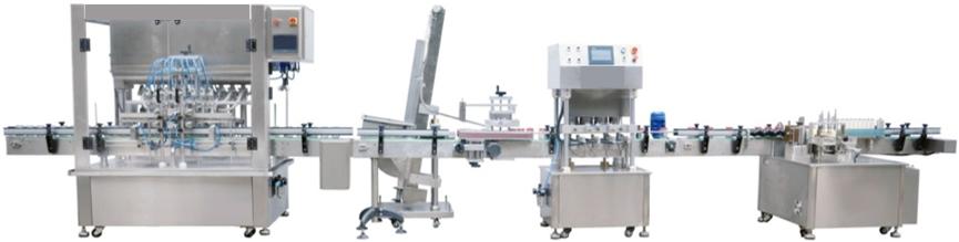 8 Heads Linear Type Piston Filling Machine Series