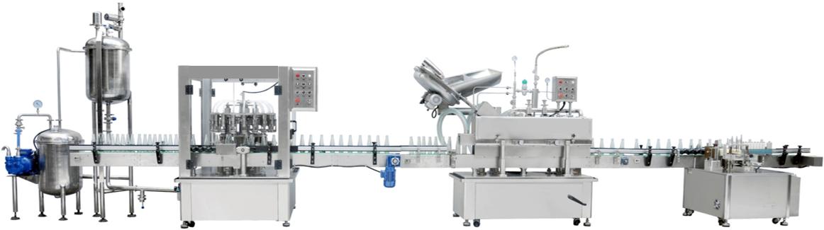 Rotary Type Vacuum Filling Machine Series