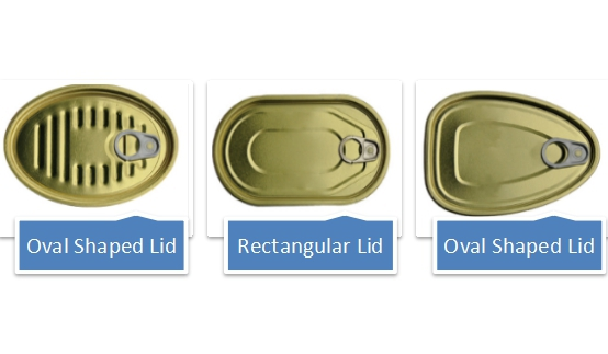 Irregular Shape Metal Can Series