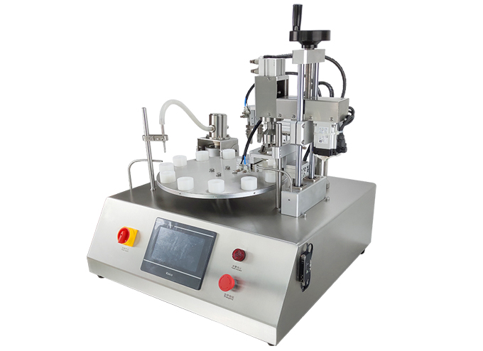 Rotary Ceramic Piston Pump Filling Capping Machine Series