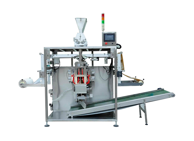 Dual Roll Intermittent Multi Lane 4 Side Sealed Granule Sachet Form Fill Seal Machine Series