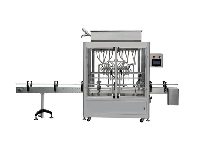 12 Heads Inline Type Gravity Liquid Filling Machine