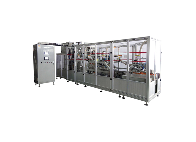Double Chamber Vacuum Brick Pouch Packaging Machine