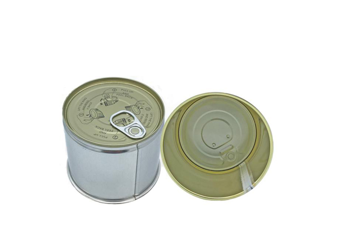 3-Pieces Round Metal Welded Can Series