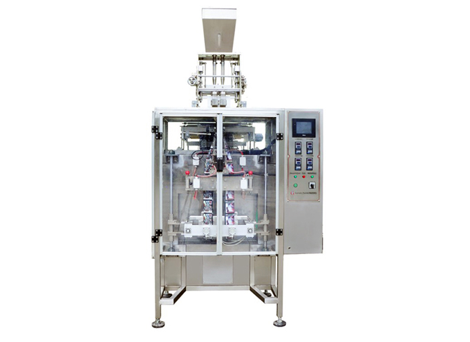 Intermittent Multi-Lane Granulate 3 Side Sealed Sachet Form Fill Seal Machine