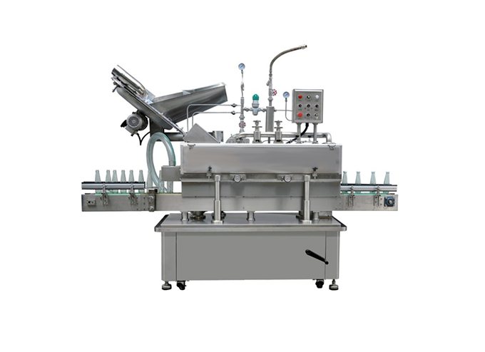 Continuous Motion Vacuuming Capping Machine