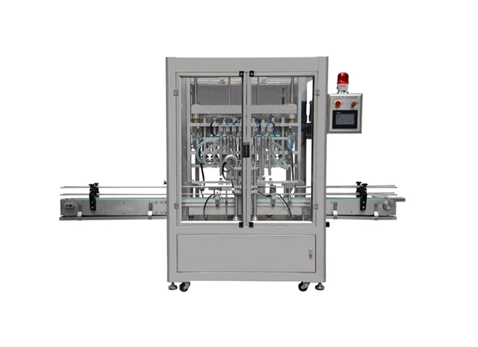 8 Heads Linear Type Piston Filling Machine Series