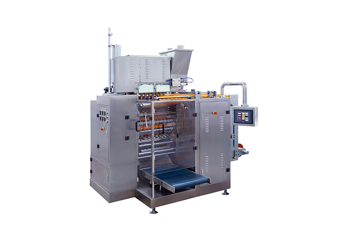 Continuous Motion Multi-Lane 4-Side Sealed Powder Sachet Form Fill Seal Machine