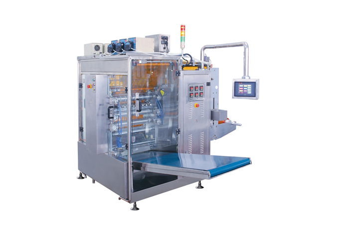 Continuous Motion Multi-Lane 4-Side Sealed Liquid Sachet Form Fill Seal Machine