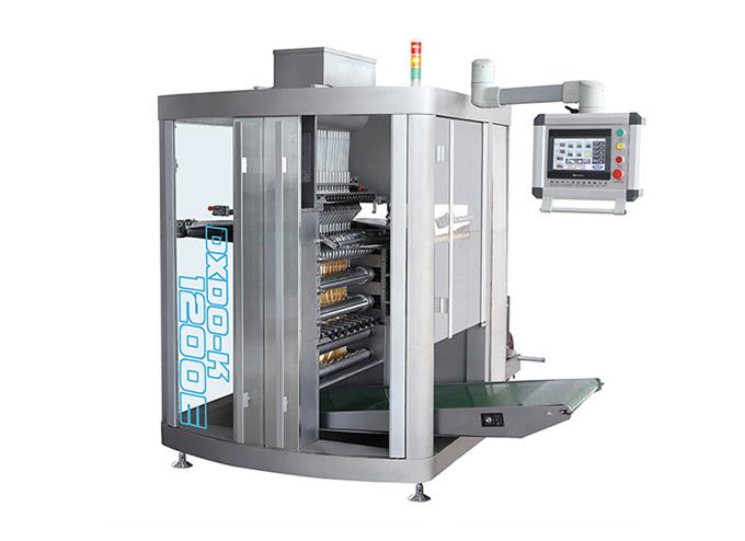 Continuous Motion Multi-Lane 4-Side Sealed Granule Sachet Form Fill Seal Machine
