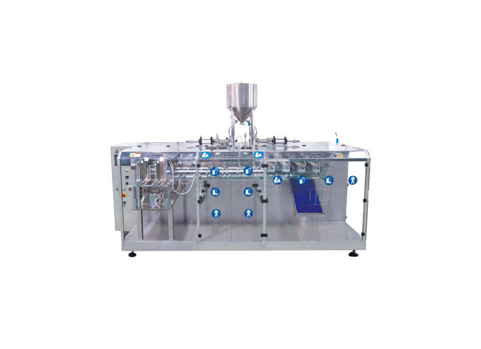 Horizontal Type Premade Pouch Packaging Machine-Compact Series