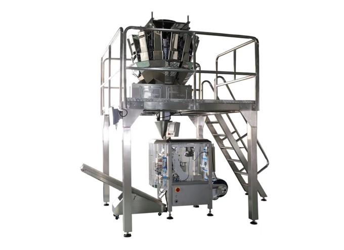 3 Servo High Speed Vertical Form Fill Seal Machine