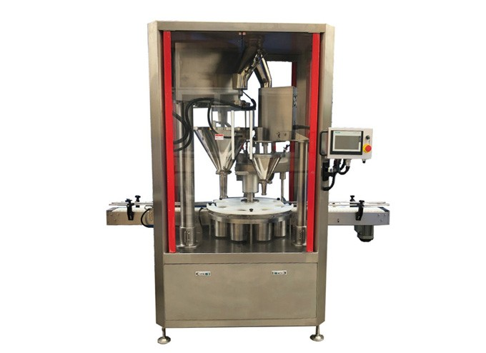Rotary Type Automatic Powder Double Filling & Weighing Machine