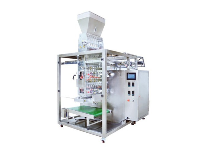 Automatic Multi-Lane Intermittent Granule Sachet Form Fill Seal Machine