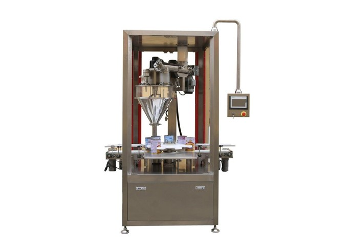Rotary Type Automatic Powder Filling &  Weighing Machine
