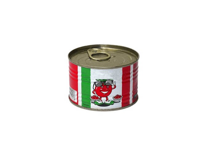 #538 Two-Piece Round Metal Food Can Series