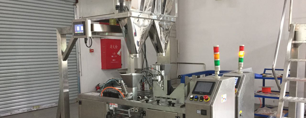 CSC1455- 4 lanes back seal stick packing machine for powder with counting belt and duct collecting system