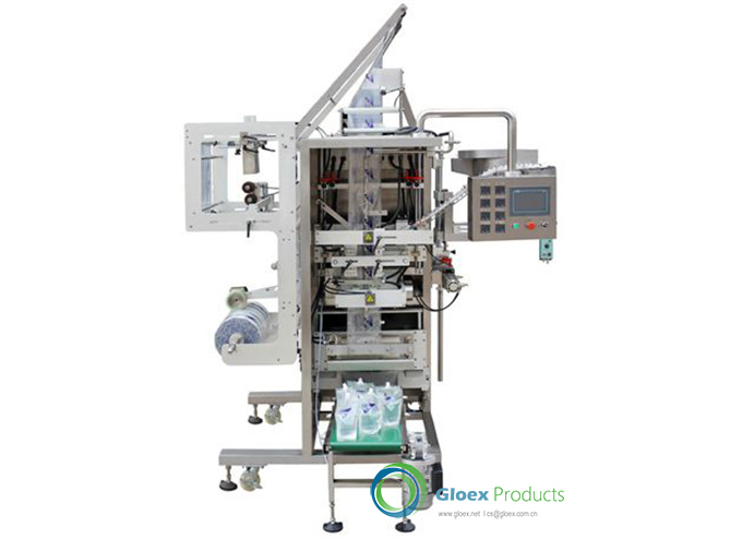 Vertical Type Automatic Liquid Spout Stand up Pouch Packaging Machine