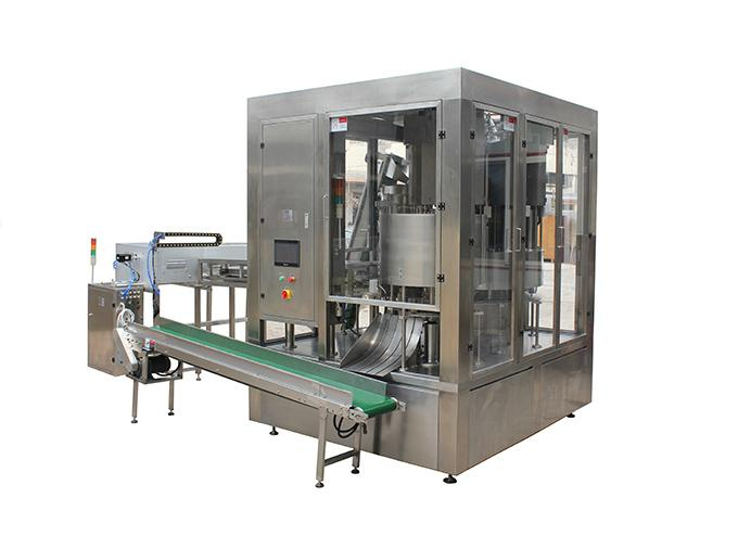 High Speed Rotary Premade Spouted Pouch Continuous Fill Cap Machine