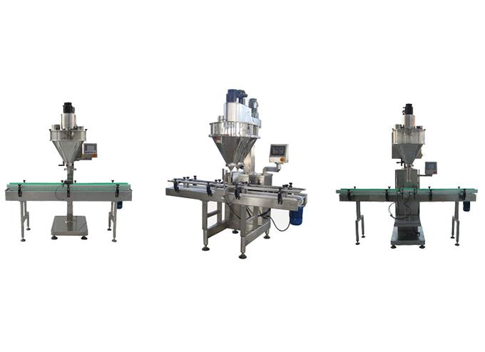 Linear Type Automatic Powder Filling Machine
