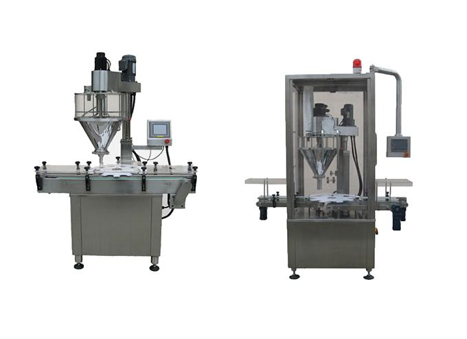 Rotary Type Automatic Powder Filling Machine
