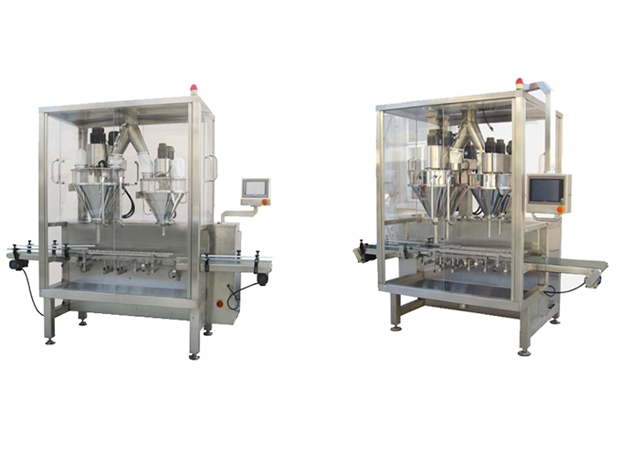 Linear Type Automatic Powder Double Filling &Weighing Machine