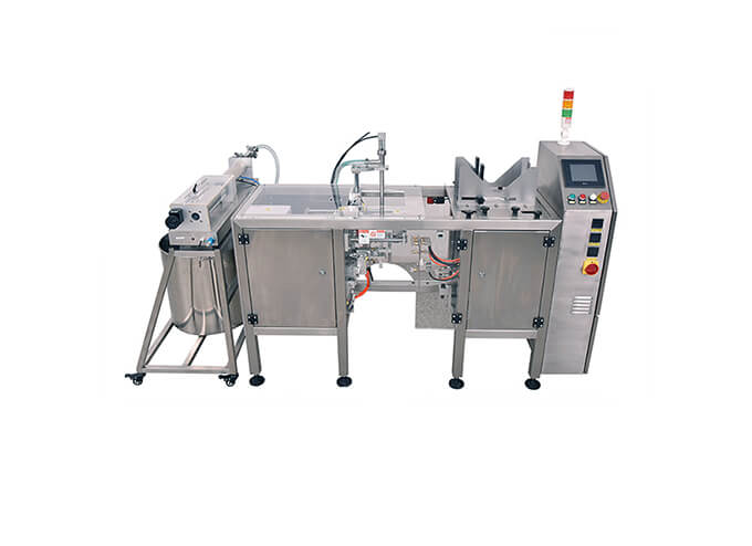 Linear Type Premade Pouch Packaging Machine