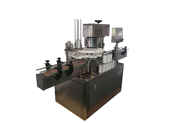 High Speed Rotary Type Automatic Round Shaped Can Seaming Machine