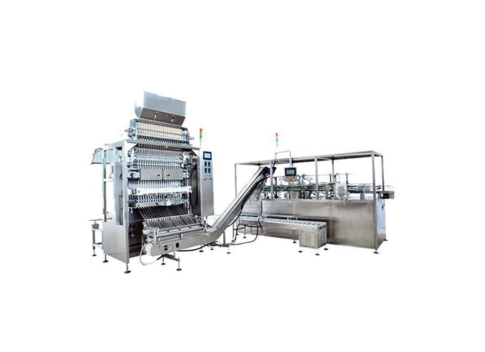 Automatic Multi-Lane Granulate Stick Form Fill Seal Machine