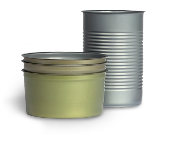 2-Piece Round Metal Food Can Series